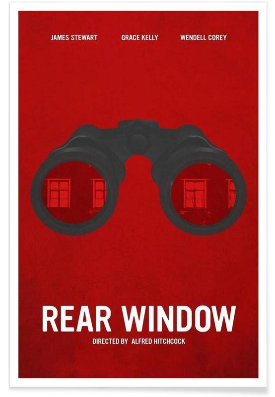 Rear Window affiche