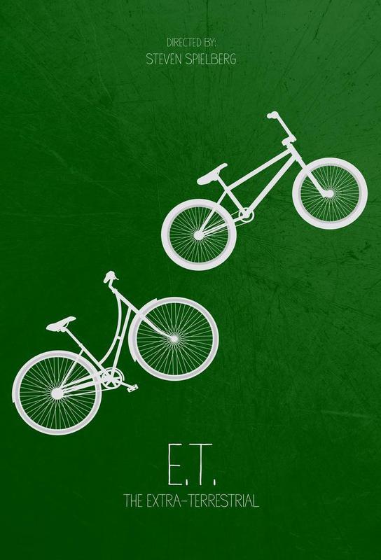 E.T. Aluminium Print