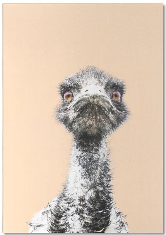 Orange Emu Notepad