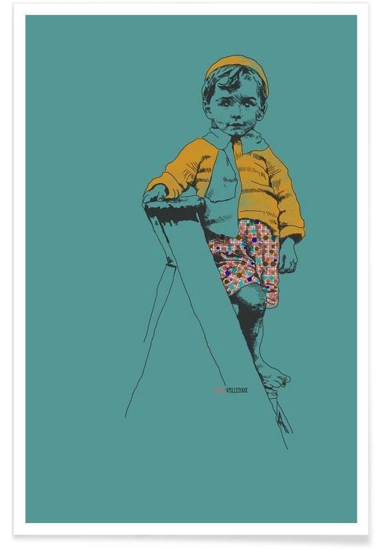 Ladder Boy Poster