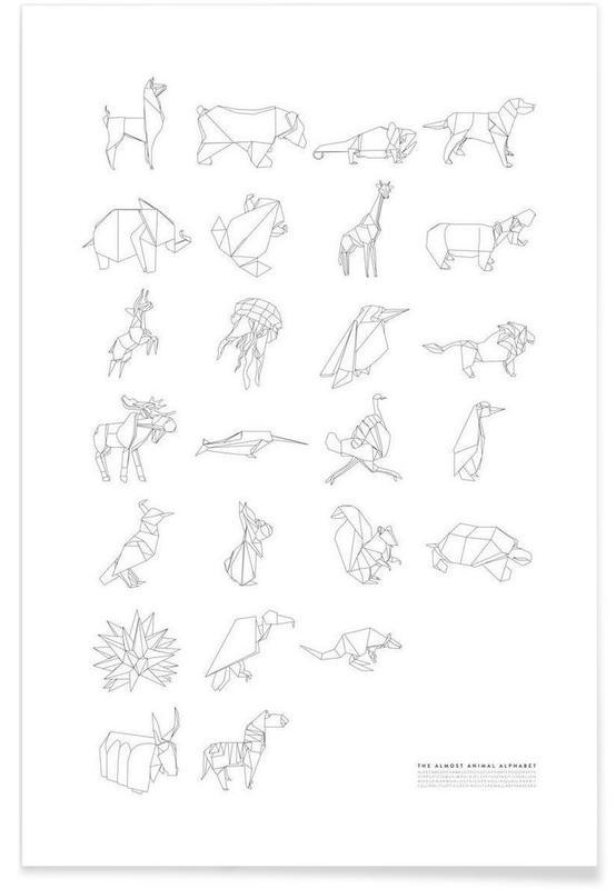 Almost Animal Alphabet affiche