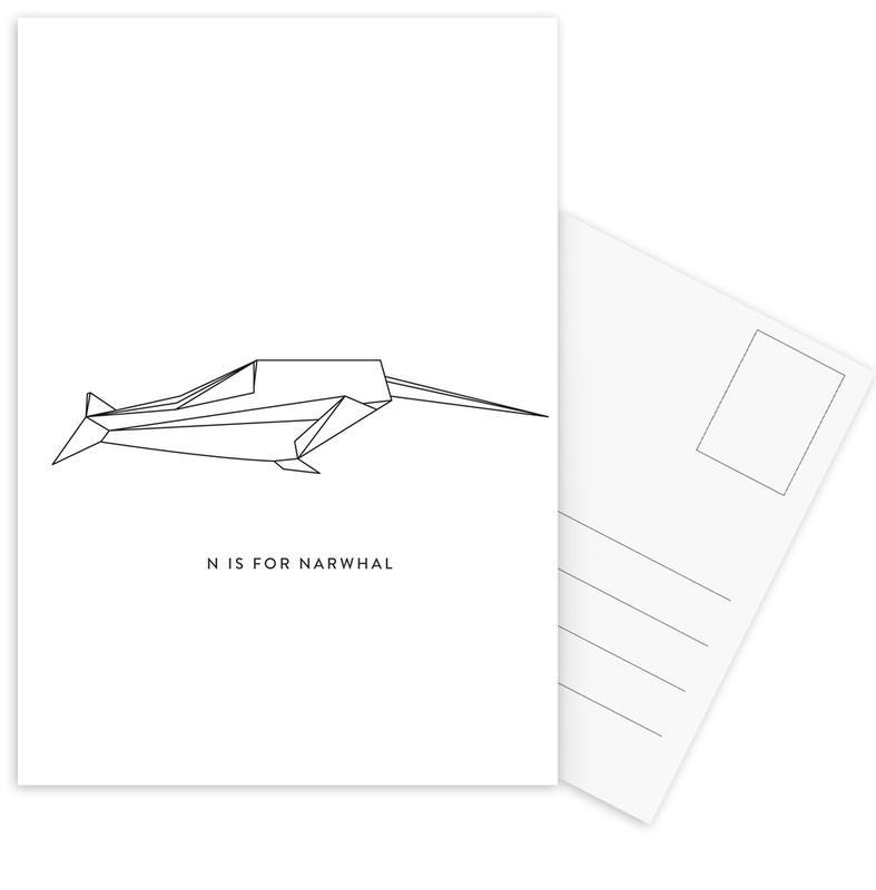 N Postcard Set
