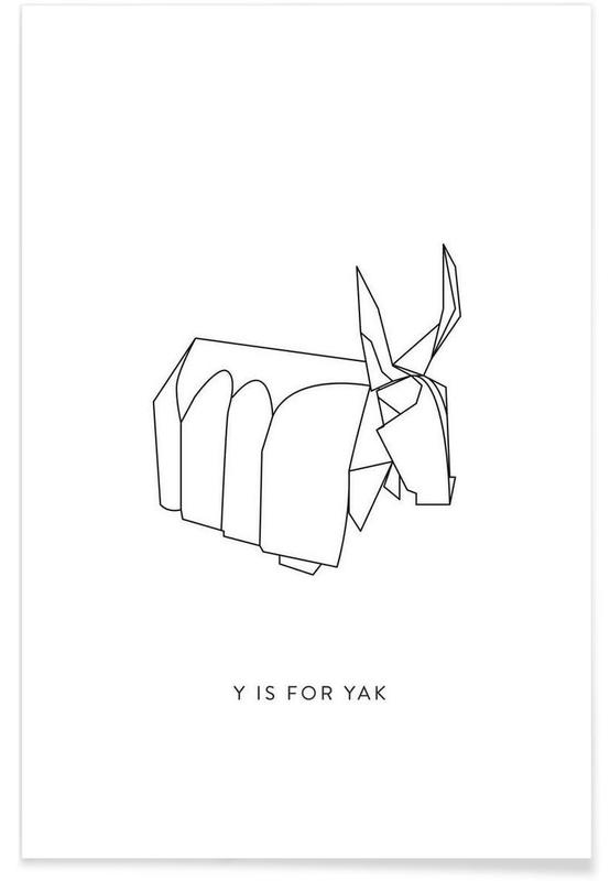 Origami Yax Poster