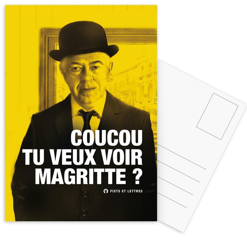 Magritte cartes postales