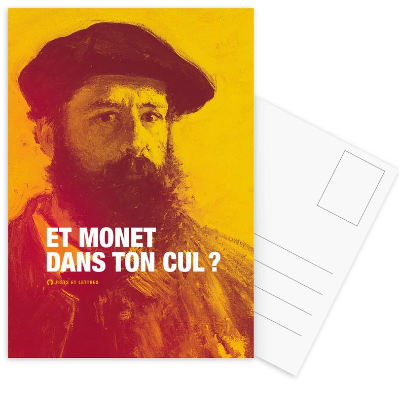 Monet cartes postales