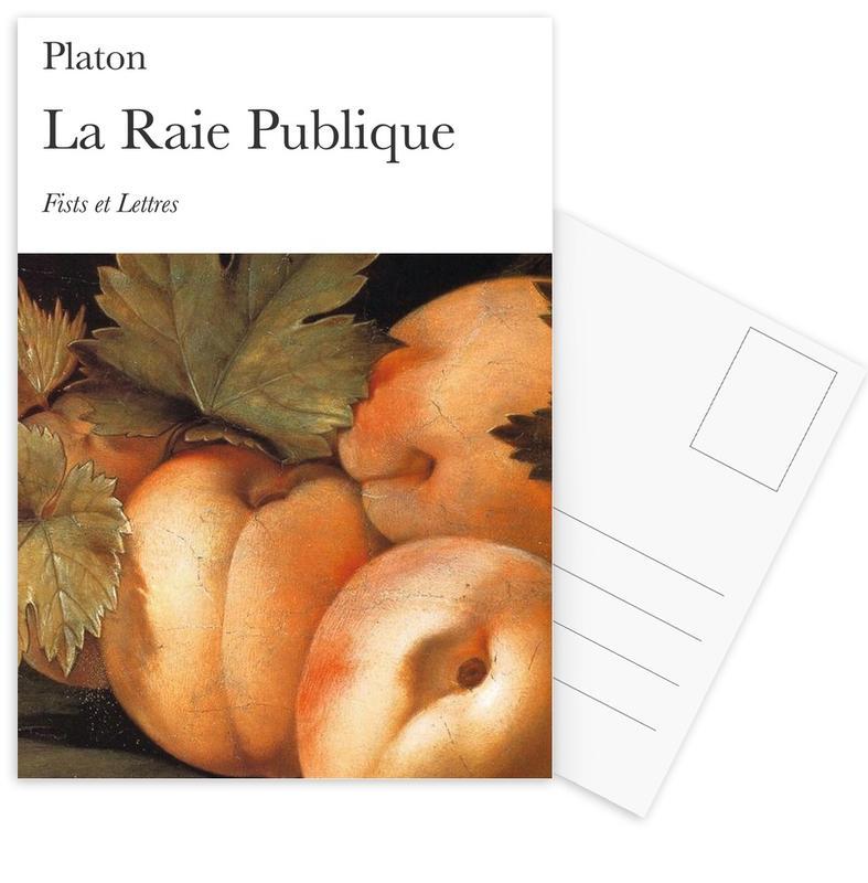 La Raie Publique cartes postales