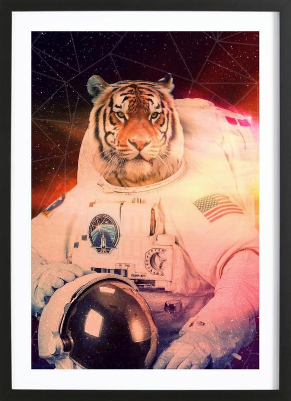 Astrotiger Framed Print