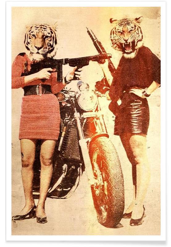 Tiger Girls Poster