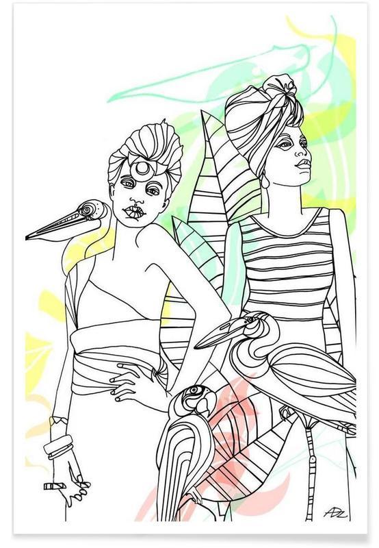 Smokers - Queens & Dandies Poster