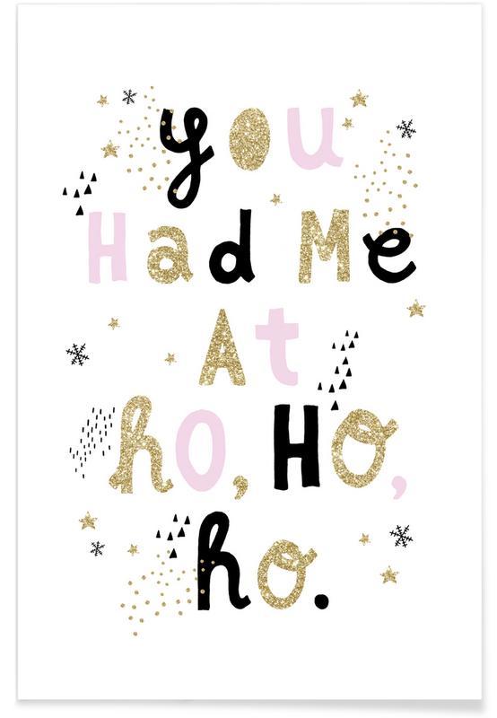 At HohoHo -Poster