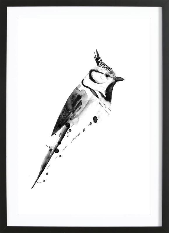 Birdy 2 ingelijste print