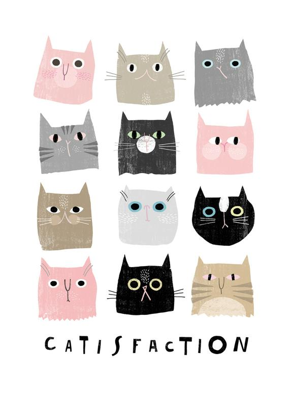 Catisfaction 1 Canvas Print