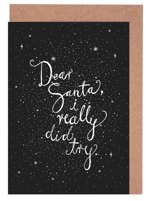 Dear Santa No. 2 cartes de vœux