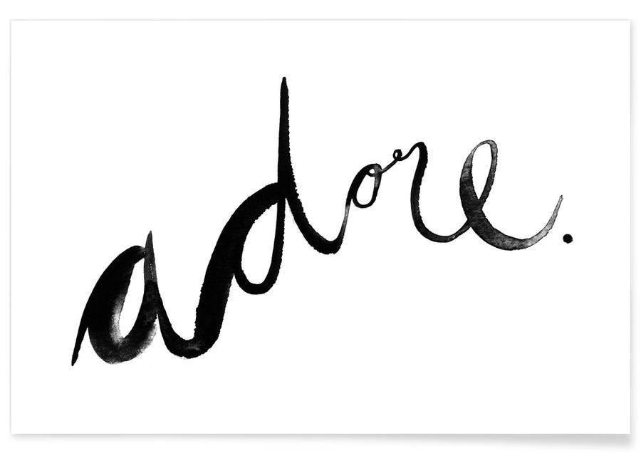 Adore -Poster