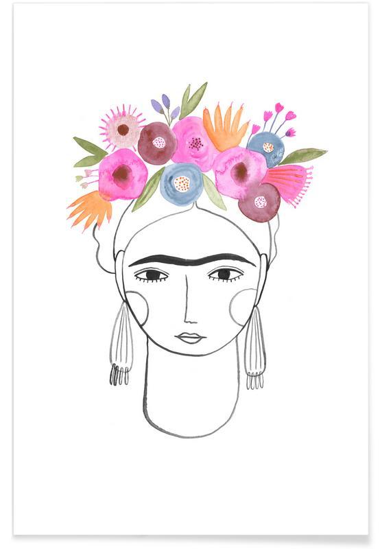 Beautiful Frida -Poster