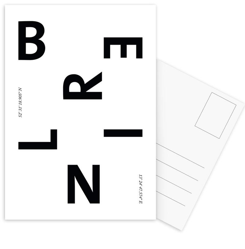 Berlin Cities Postcard Set