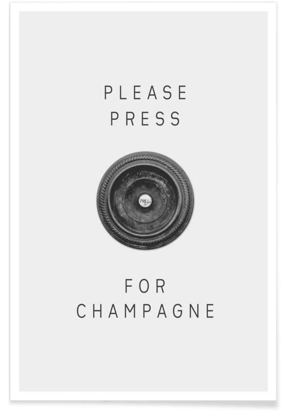 Please Press Poster
