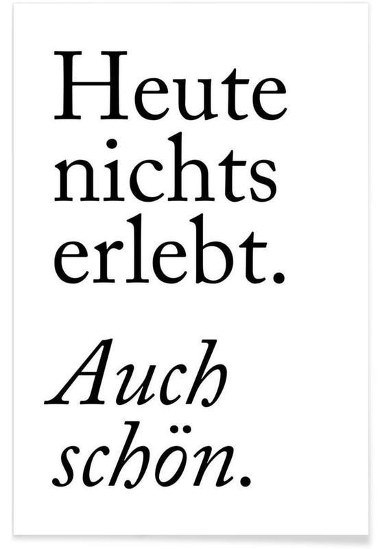 Auch Schön -Poster