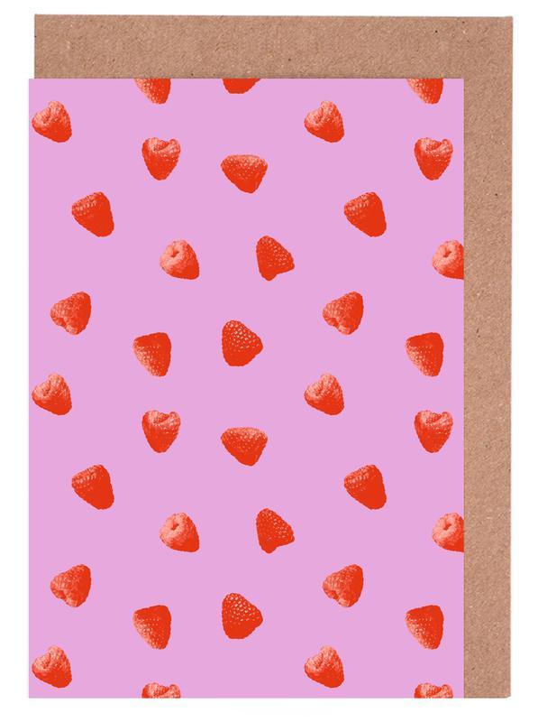 Raspberry Heaven Greeting Card Set