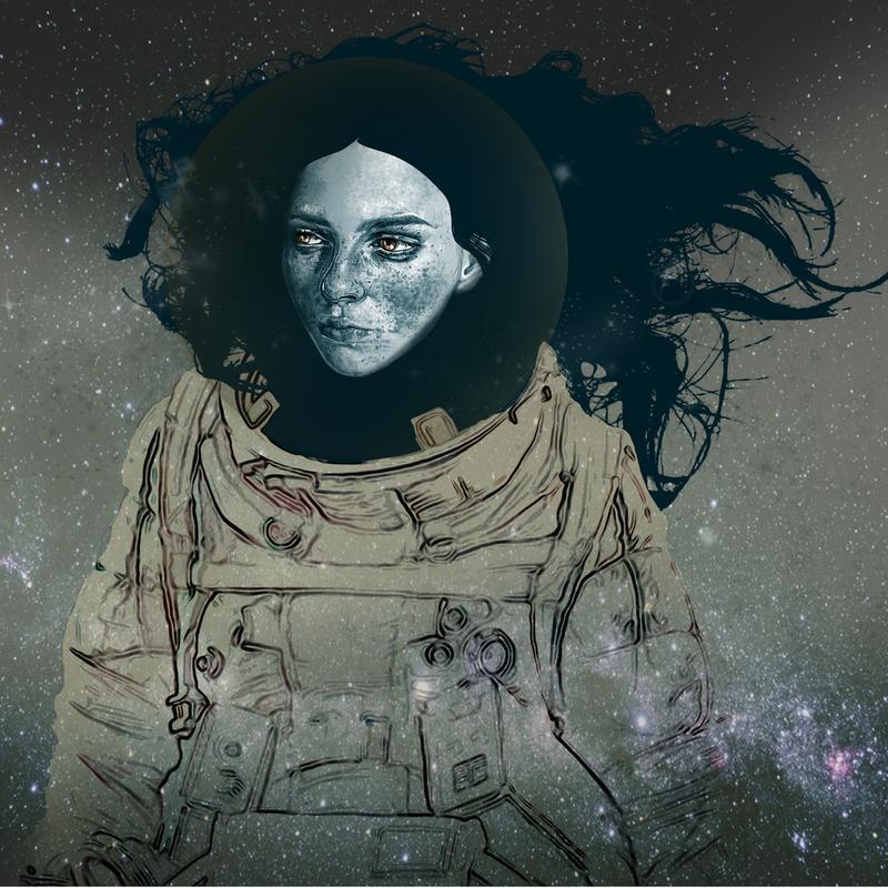 Astronaut 1 -Alubild