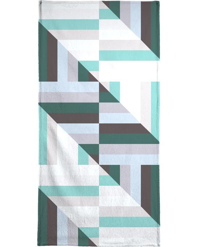 Maze | 60's Bath Towel