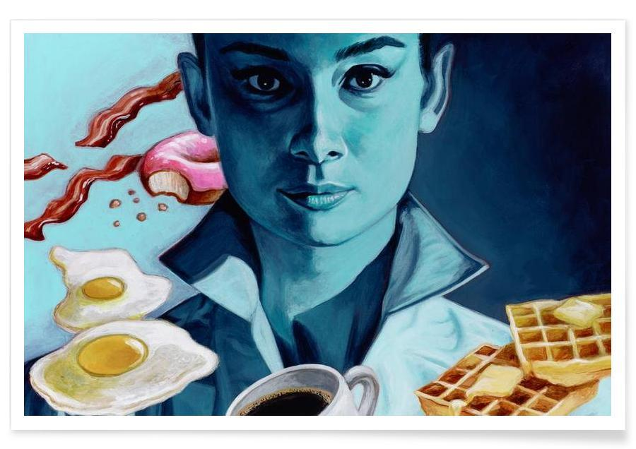 Breakfast with Tiffany Poster
