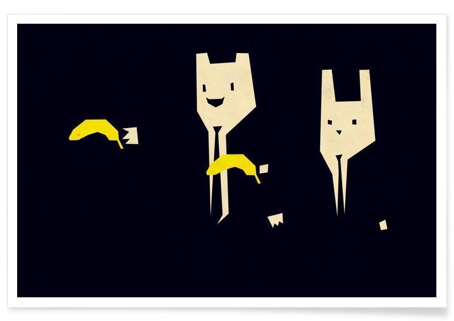 Pulp Banana Poster