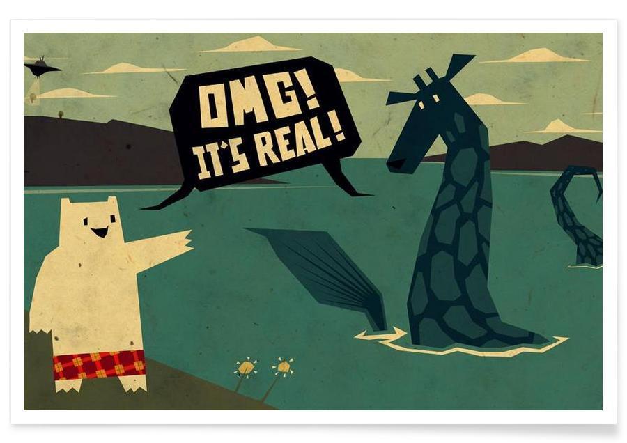 Yeti meets Nessie Poster