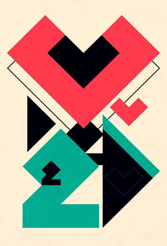 Love 2 play Acrylic Print