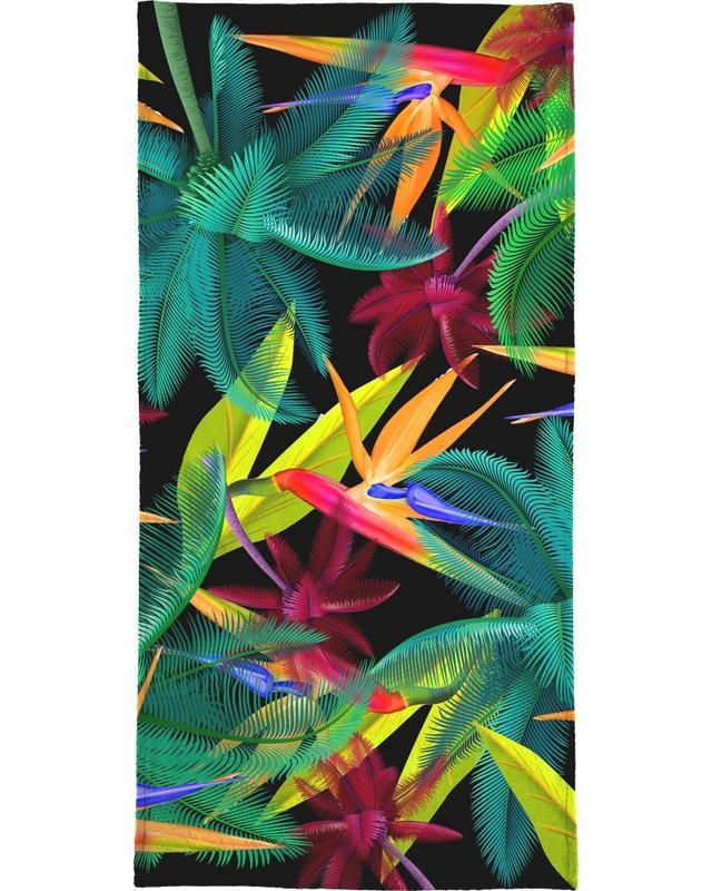 Bird of paradise serviette de bain