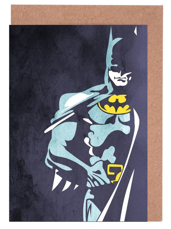 Batman 3 cartes de vœux
