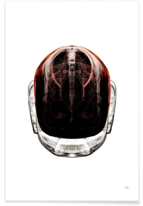 Daft White Face 2 Poster