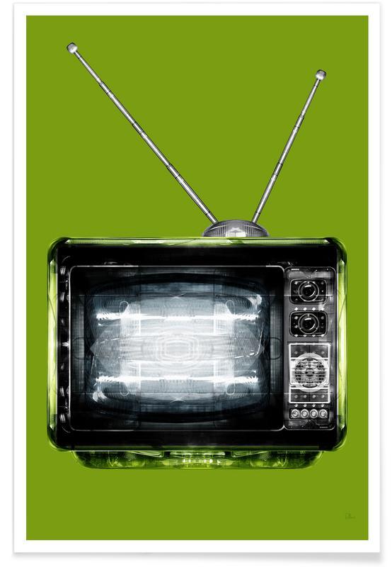 Religion Cathodique Verte Poster