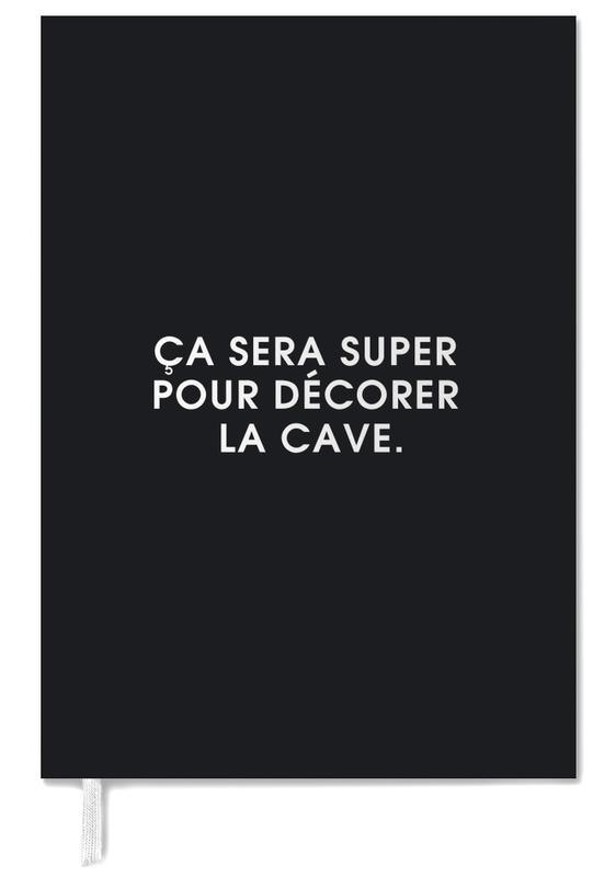 Ça sera super pour décorer la cave - Black Personal Planner