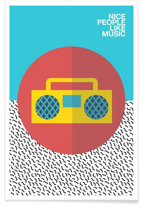 Nice people Like Music -Poster