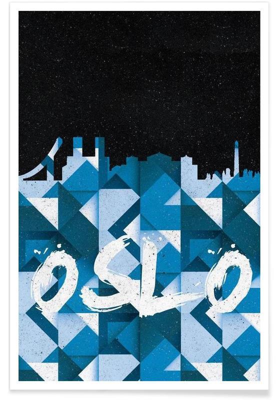 Oslo -Poster
