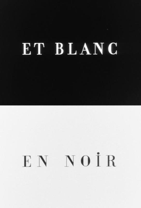 Et blanc en noir Acrylic Print