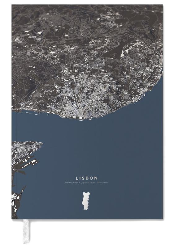 Lisbon Color City Map agenda