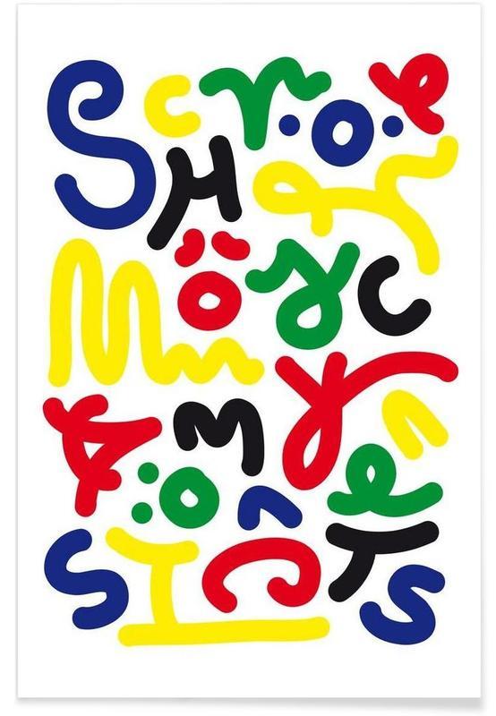 Schön Color -Poster