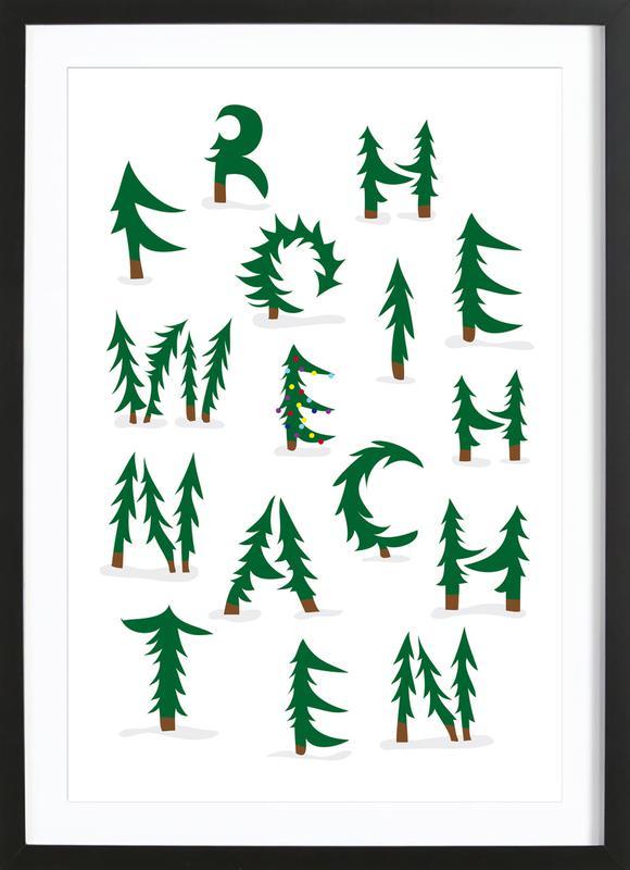 Weihnachten Framed Print