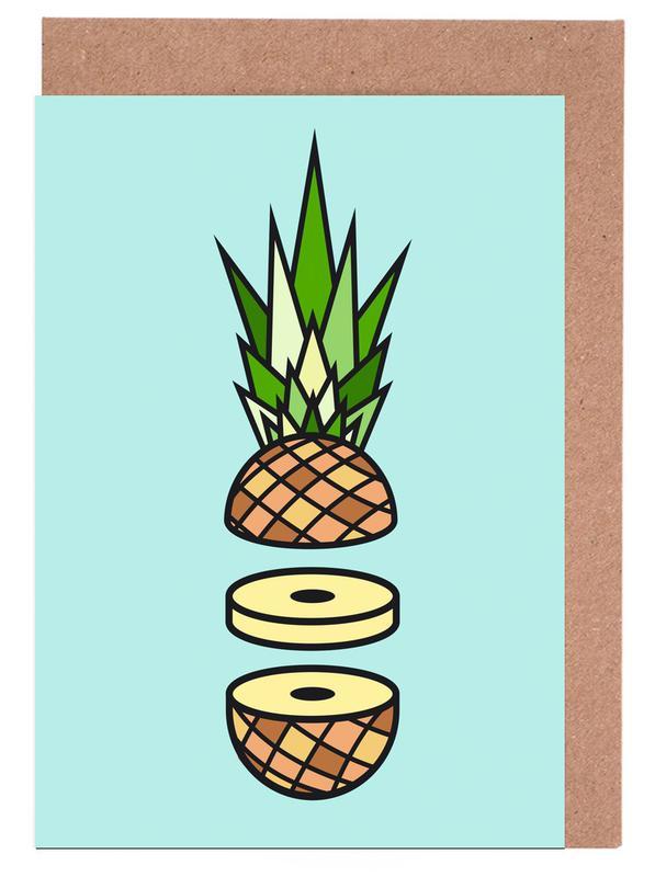 Pineapple Greeting Card Set