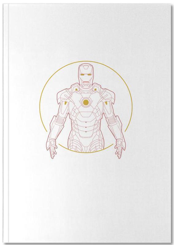 Iron Man Notebook