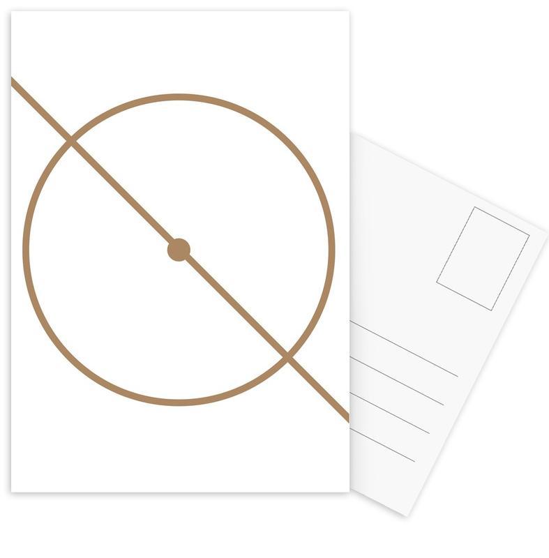 Centre Circle -Postkartenset