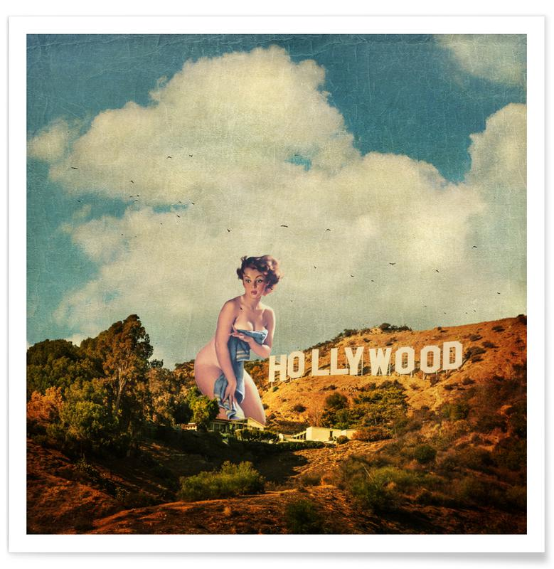 L.A. Pinup Poster