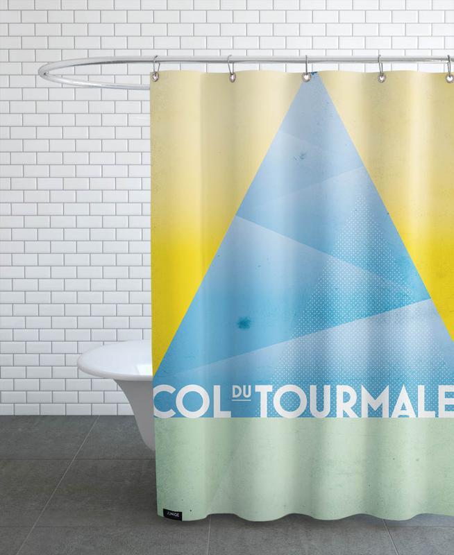 Col du Tourmalet Shower Curtain