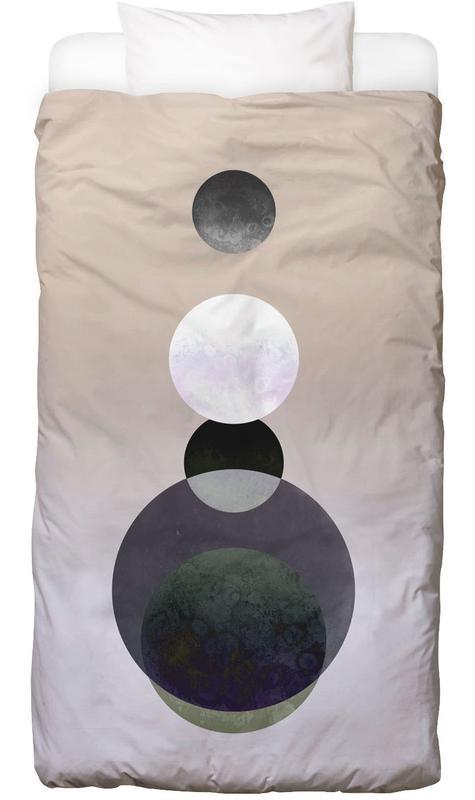 Moon Tower Beige Bettwäsche