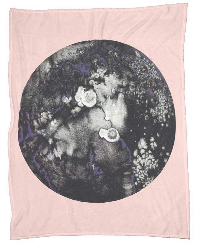 Mercury Pink Fleece Blanket