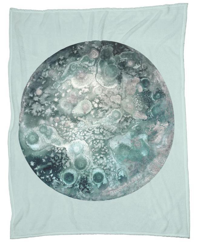 Neptune turquoise -Fleecedecke