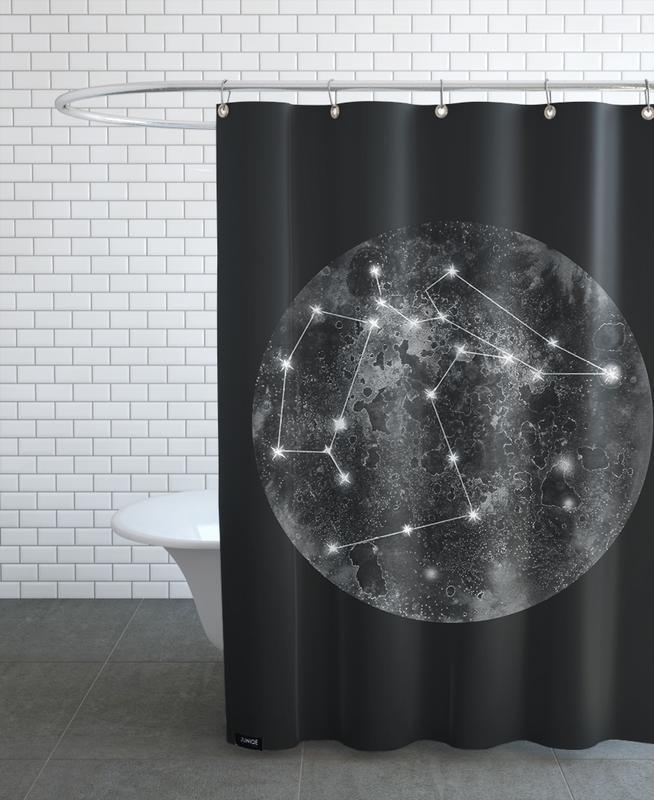 Constellation Black -Duschvorhang