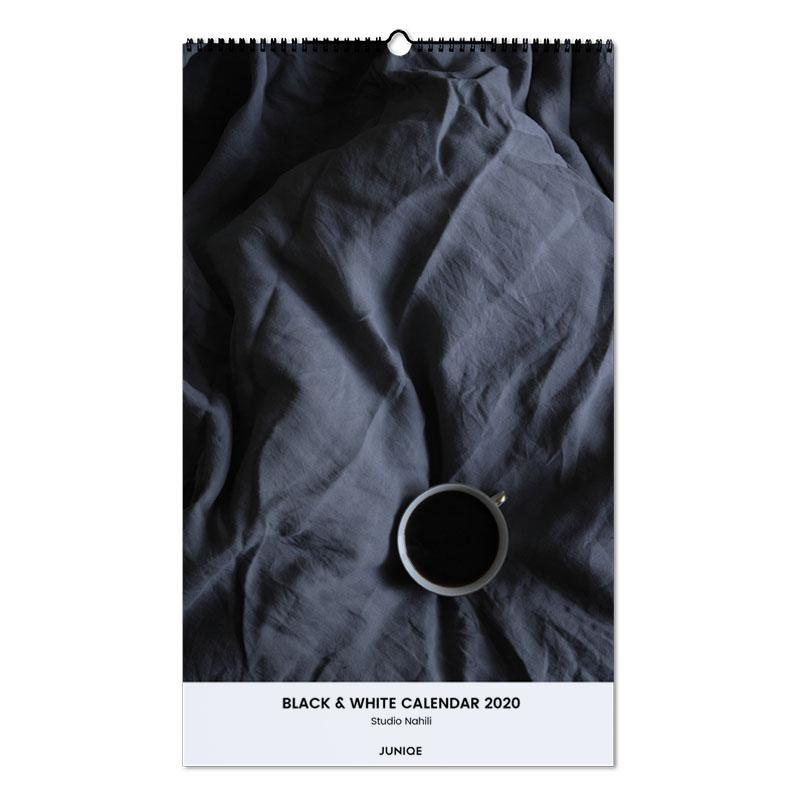 Black & White Calendar 2020 - Studio Nahili Wall Calendar